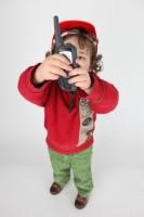 enfant récepteur radio